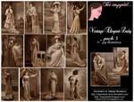 Vintage Elegant Lady Pk3