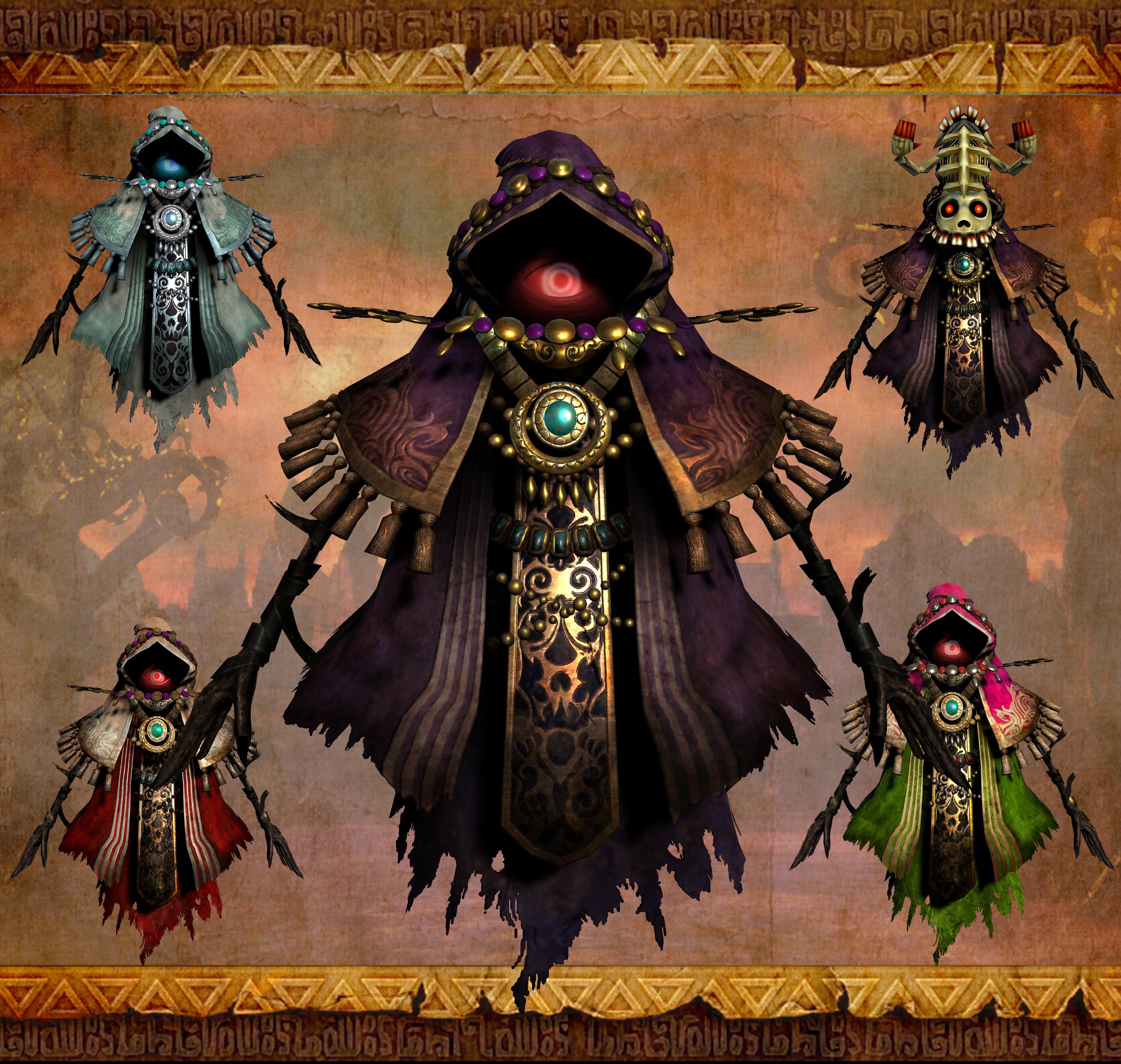 Hyrule Warriors DE - Wizzro + Costumes ( XPS ) by