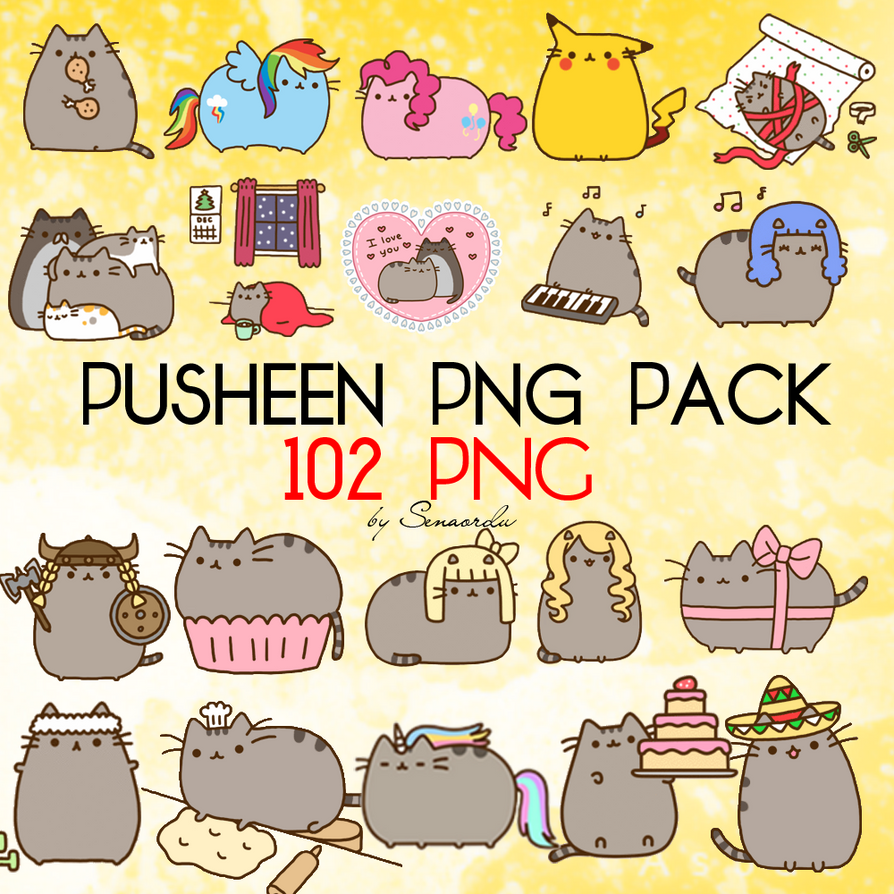 Pusheen PNG Pack By NavySenaOrdu On DeviantArt