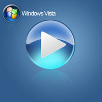 Windows Media Play Button PSD by PsychOut
