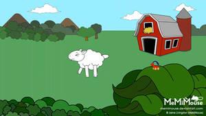 Constipated Sheep GIF