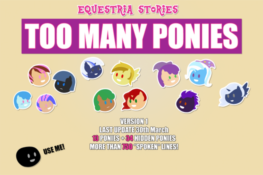 Think Pink Crew's ''Too Many Ponies'' (Version 1)