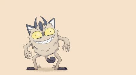 [GIF] Galarian meowth