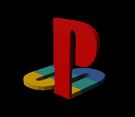 PlayStation Logo (3D Model Download)