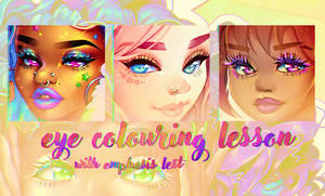 Eye Colouring Lesson with Emphasis-Lest by Emphasis-Lest