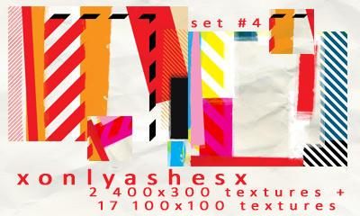 Texture Set 4 by xonlyashesx