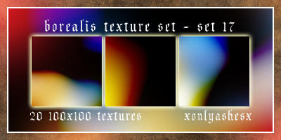 Texture Set 17 by xonlyashesx