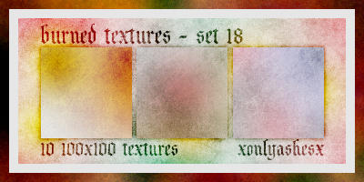 Texture Set 18 by xonlyashesx