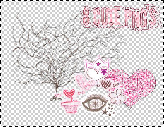 Cute PNG's by Pawla-Nighttmare
