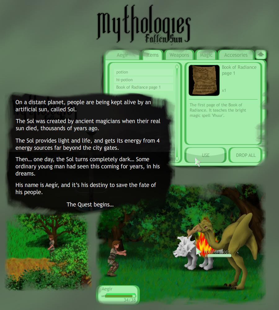 Mythologies - Fallen Sun demo