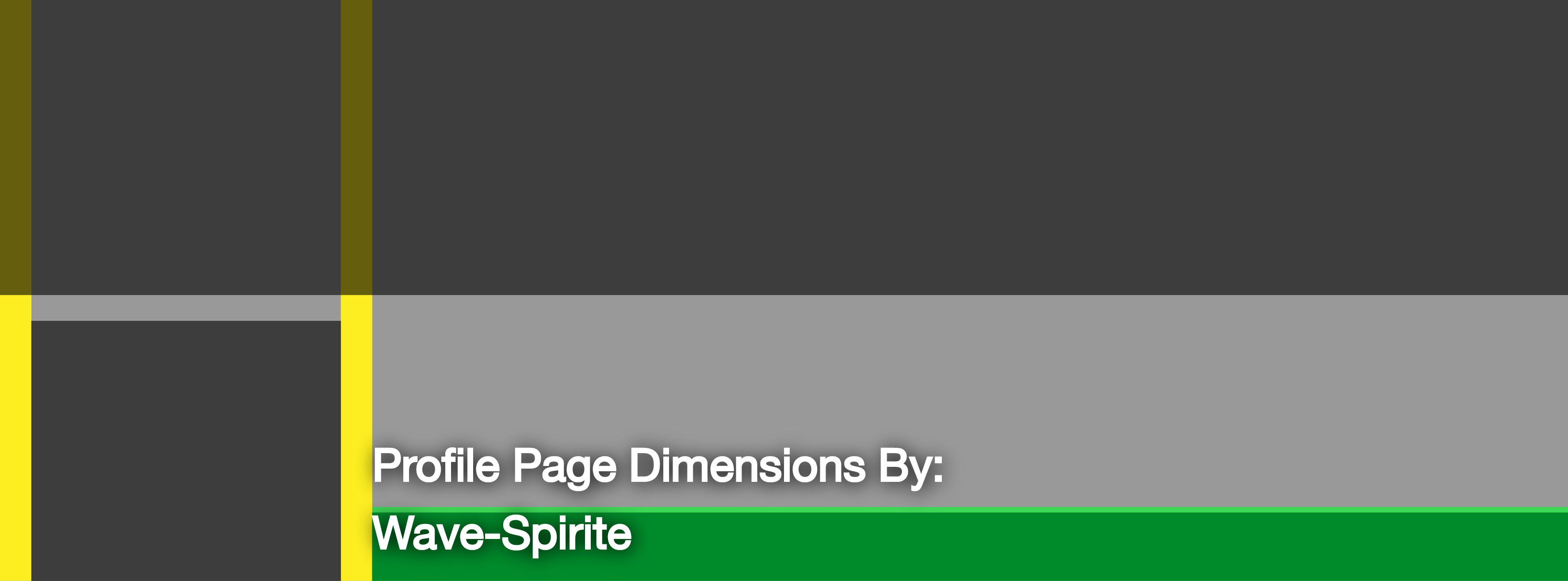Facebook Profile Page Cover Dimensions Template by Wave-Spirit on ...