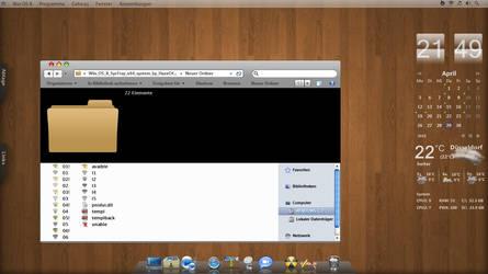 Win OS X SysTray x64 system by HazeOfOblivion