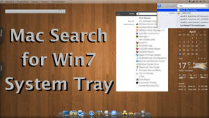 Search for Win7 System Tray