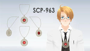 [MMD] SCP-963 Necklace DL