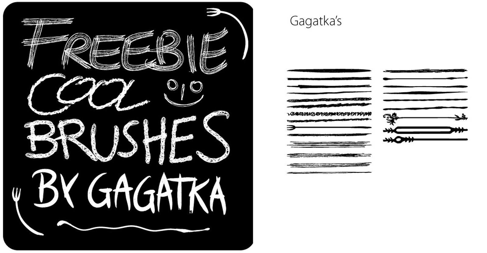 Brushes by gagatka by gagatka27
