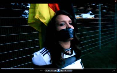 Bondage Video for Worldcup winner Germany. by LittleFavea