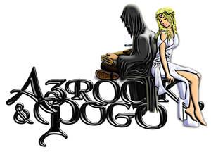 Azrock and Pogo Animated Logo