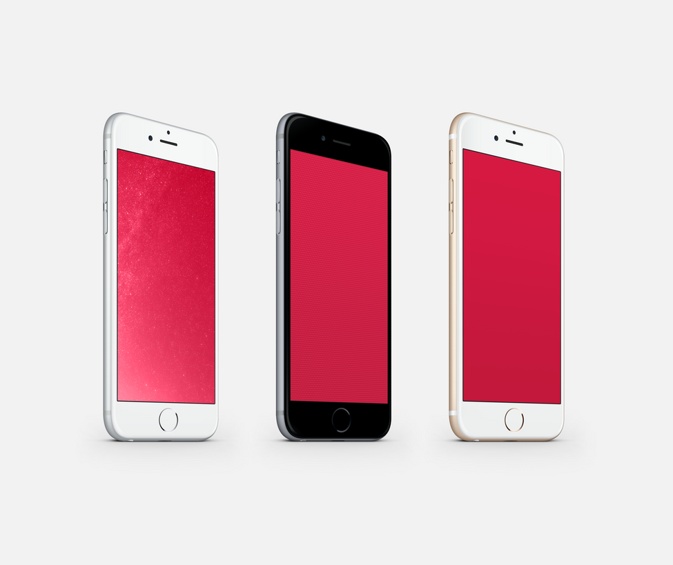 Iphone 6 M Wallpaper: (RED) Wallpaper For IPhone 6 And 6 Plus By Kiwimanjaro On