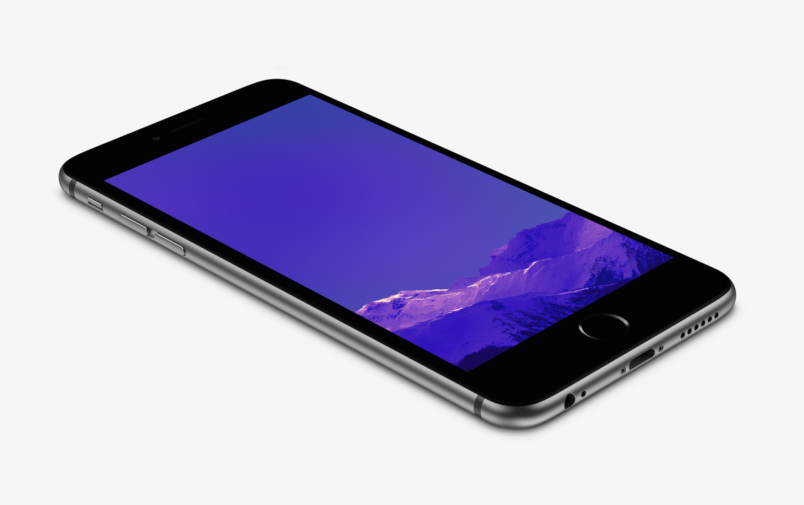 Purple Iphone 6 Wallpaper 14276 Wallpaper: Purple Mountain Wallpaper For IPhone 6 And 6 Plus By