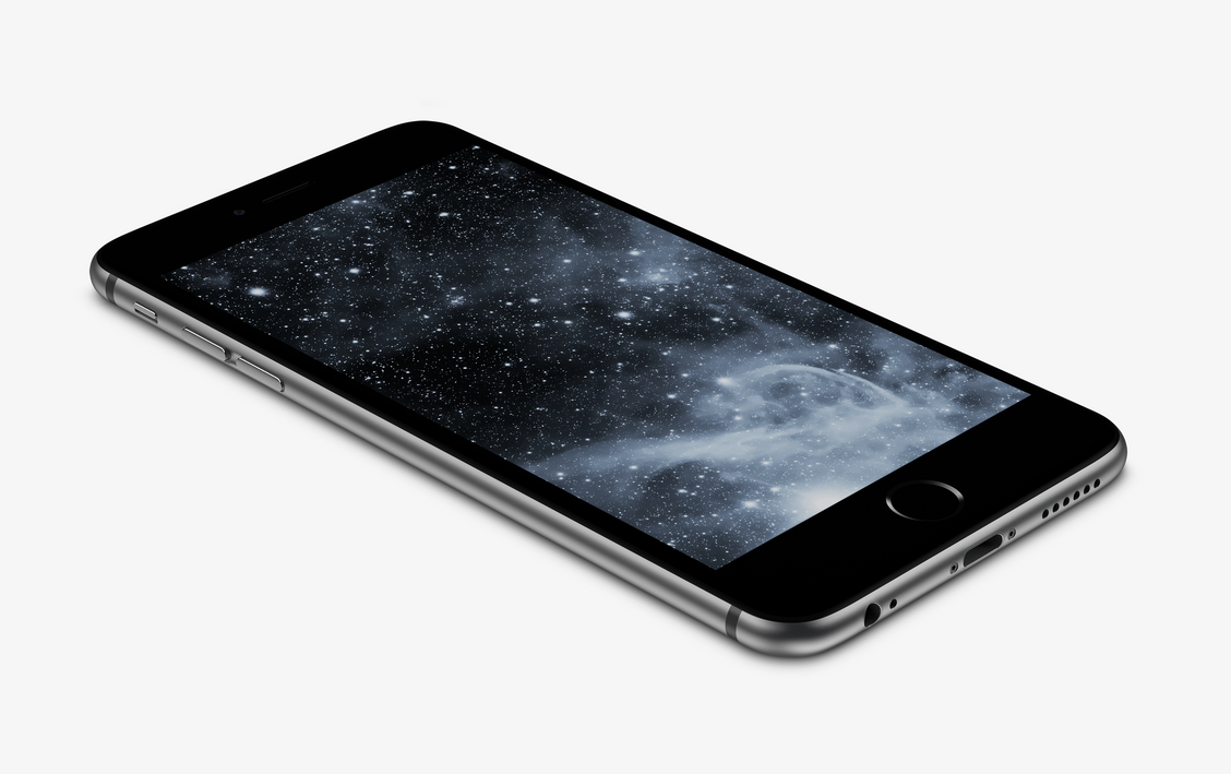 Black-Nebula Wallpaper For IPhone 6 And 6 Plus By