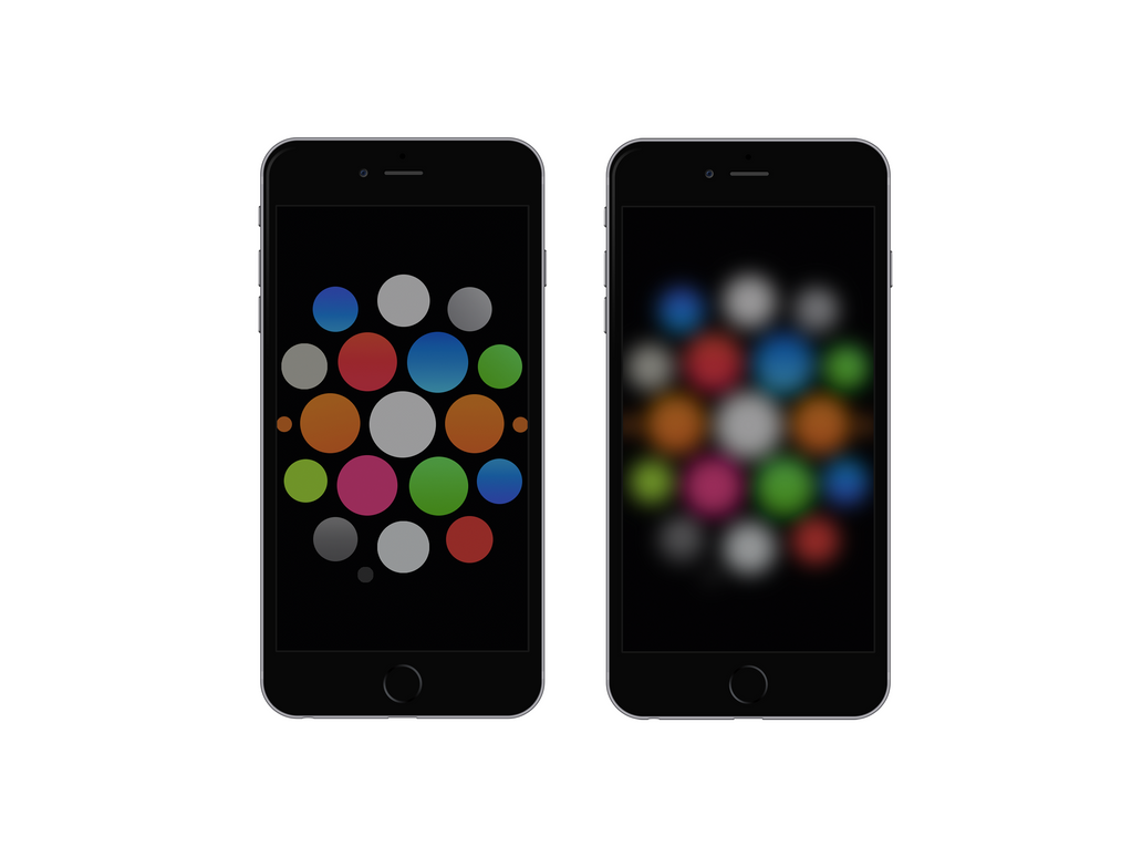 Watch-Dark Wallpaper For IPhone 6 And 6 Plus By