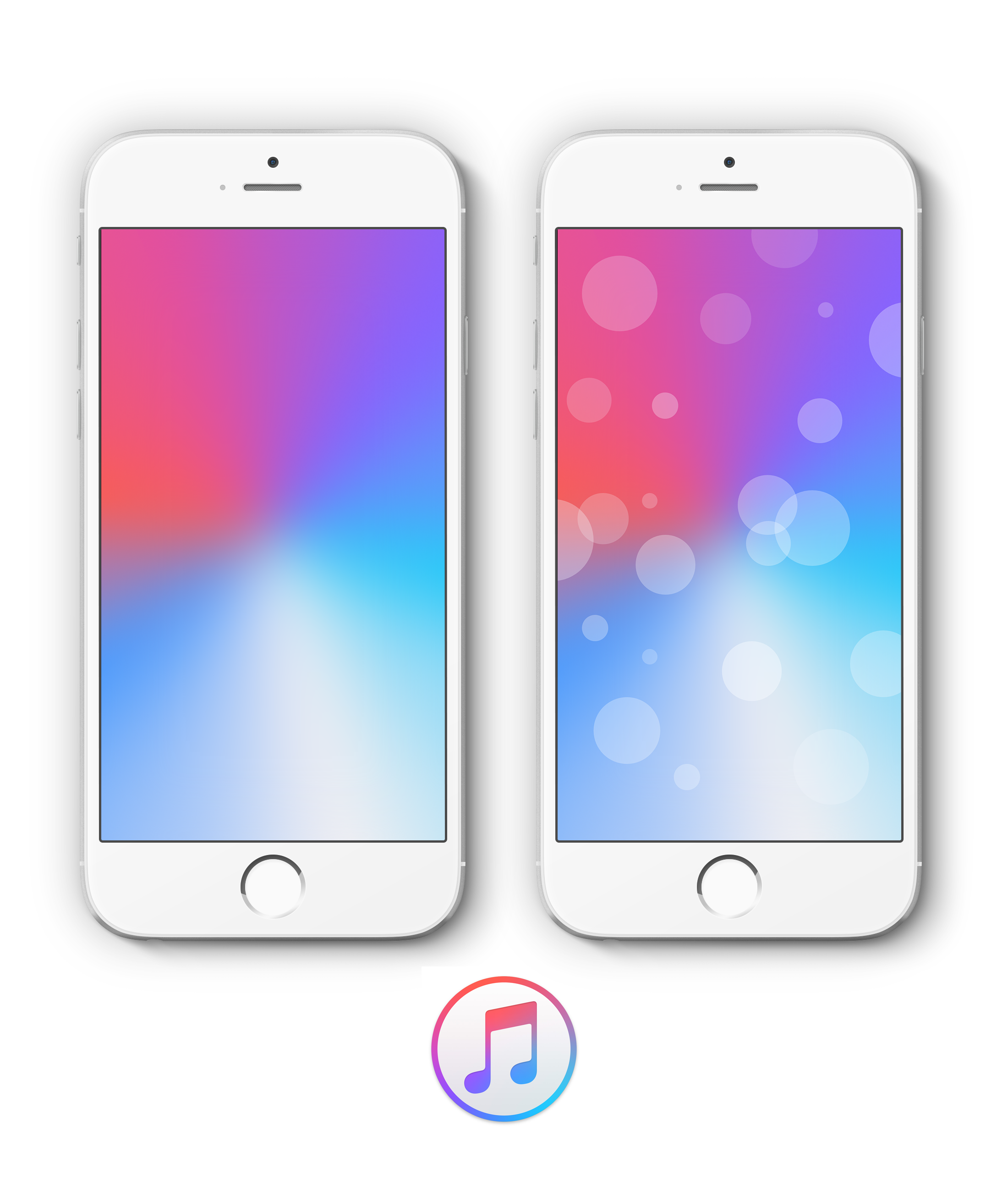 Apple Music Blank WallPaper by AR from AR App Iphone | HD ...