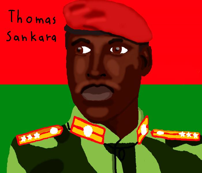 Thomas Sankara by DragonQuestWes