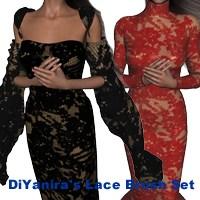 Lace Brush set PS_7 by DiYanira