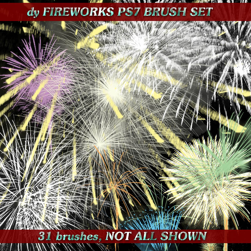FIREWORKS PS7 BRUSH SET by DiYanira