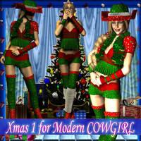 Xmas 1 for Modern Cowgirl by DiYanira