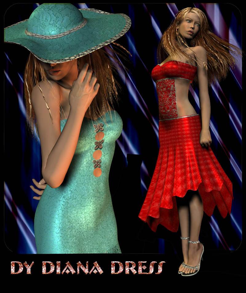 DY Diana Outfit V4 FREE by DiYanira