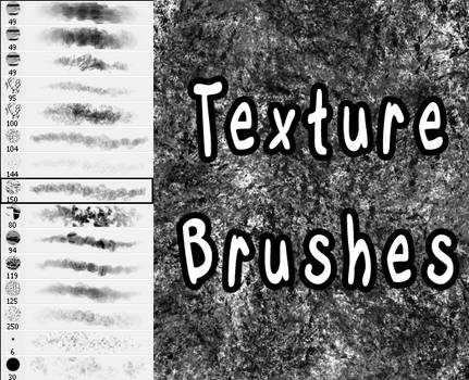 Texture Brush Set by Stalcry