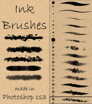 Ink and Watercolor Brushes