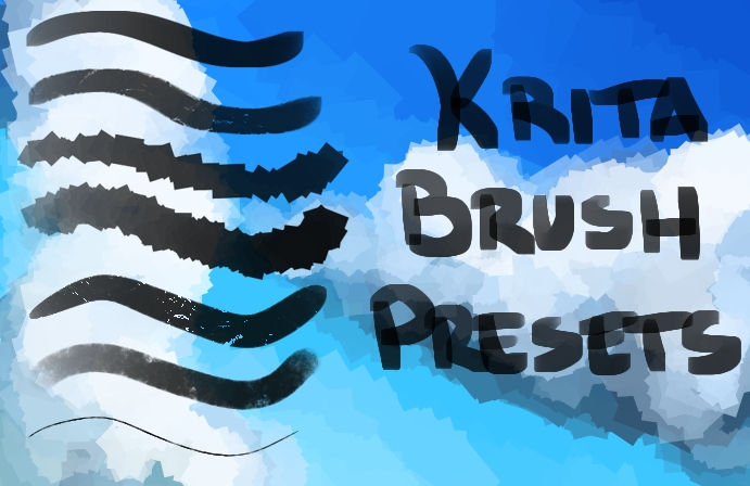 Krita Custom Brushes