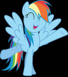 Vector #526 - Rainbow Dash #62