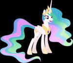 Vector #539 - Princess Celestia #4