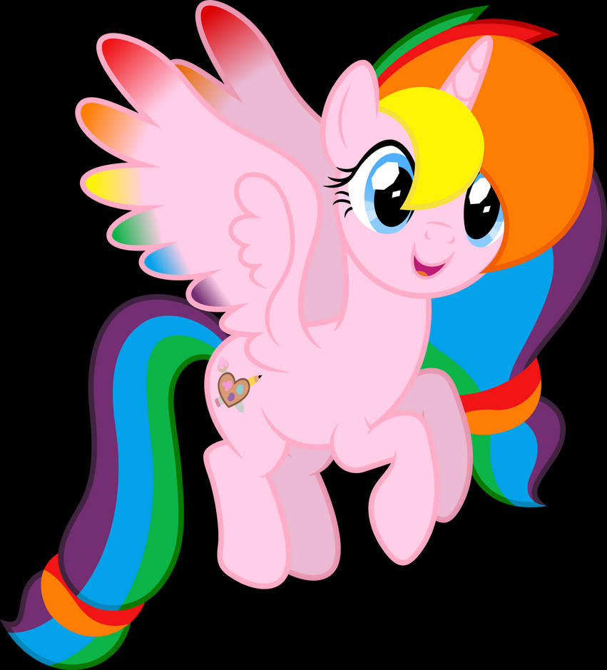 Vector #594 - Rainbow Splash by DashieSparkle