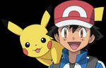 Vector #599 - Ash and Pikachu