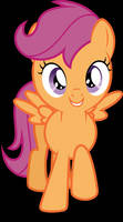 Vector #604 - Scootaloo #8 by DashieSparkle