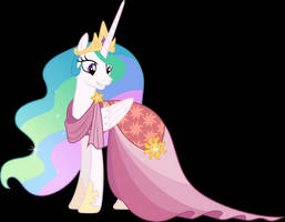 Vector #621 - Princess Celestia #5 by DashieSparkle