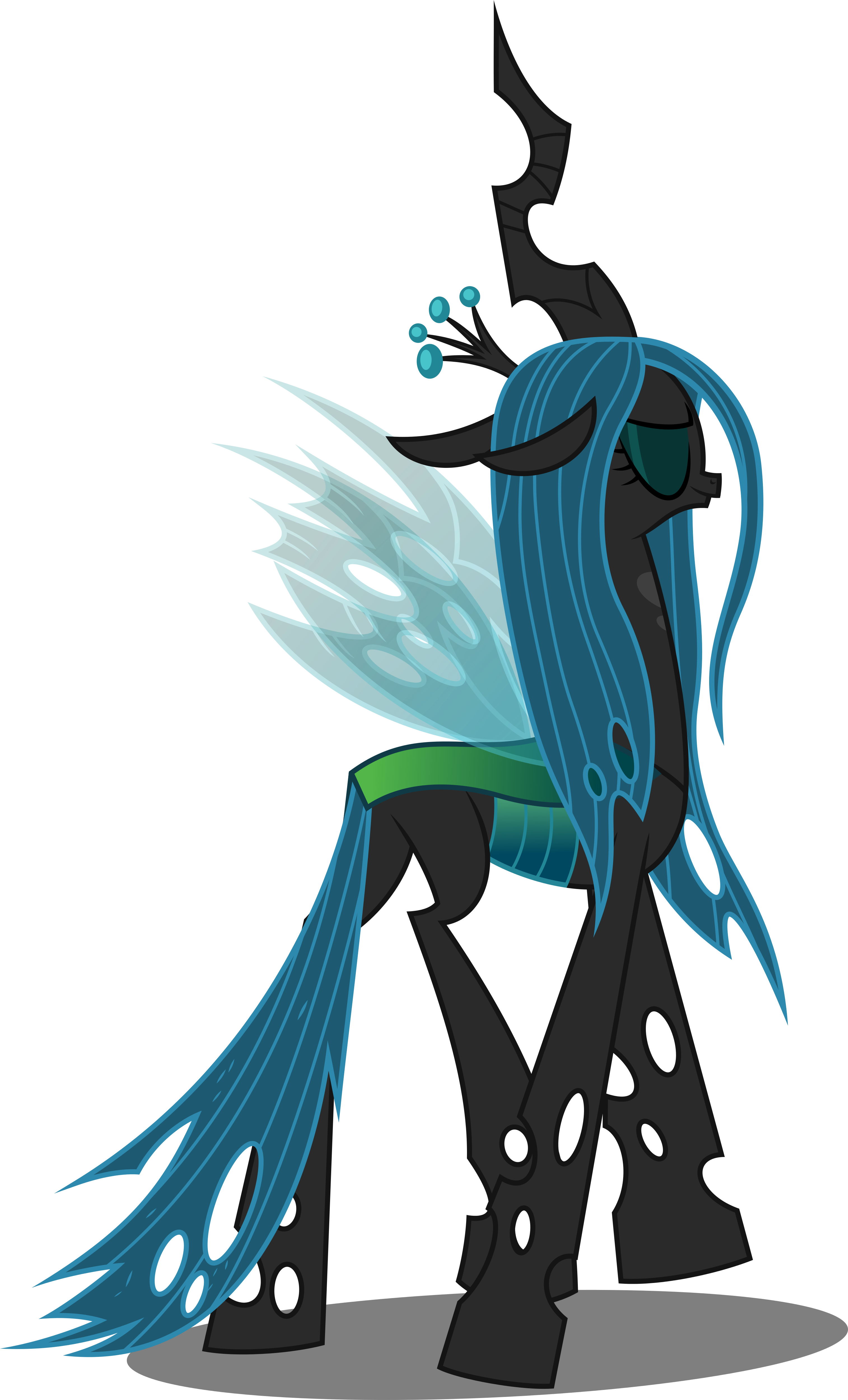 Vector #622 - Queen Chrysalis #2 by DashieSparkle on ...