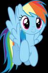 Vector #628 - Rainbow Dash #72