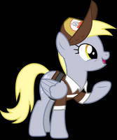 Vector #649 - Derpy Hooves #12 by DashieSparkle
