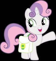 Vector #657 - Sweetie Belle #5 by DashieSparkle