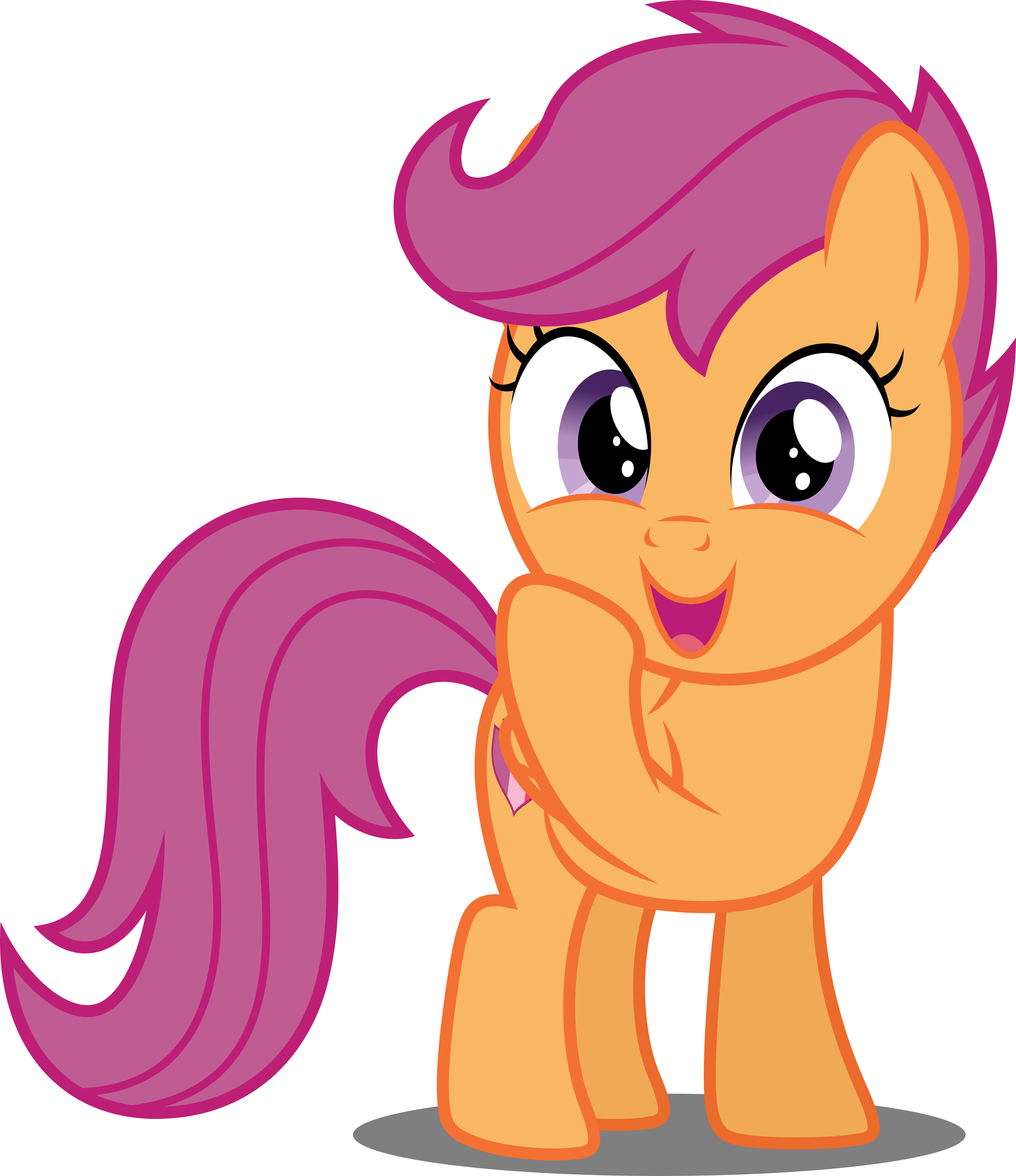 Vector #658 - Scootaloo #9 by DashieSparkle