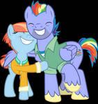 Vector #695 - Rainbow's Parents