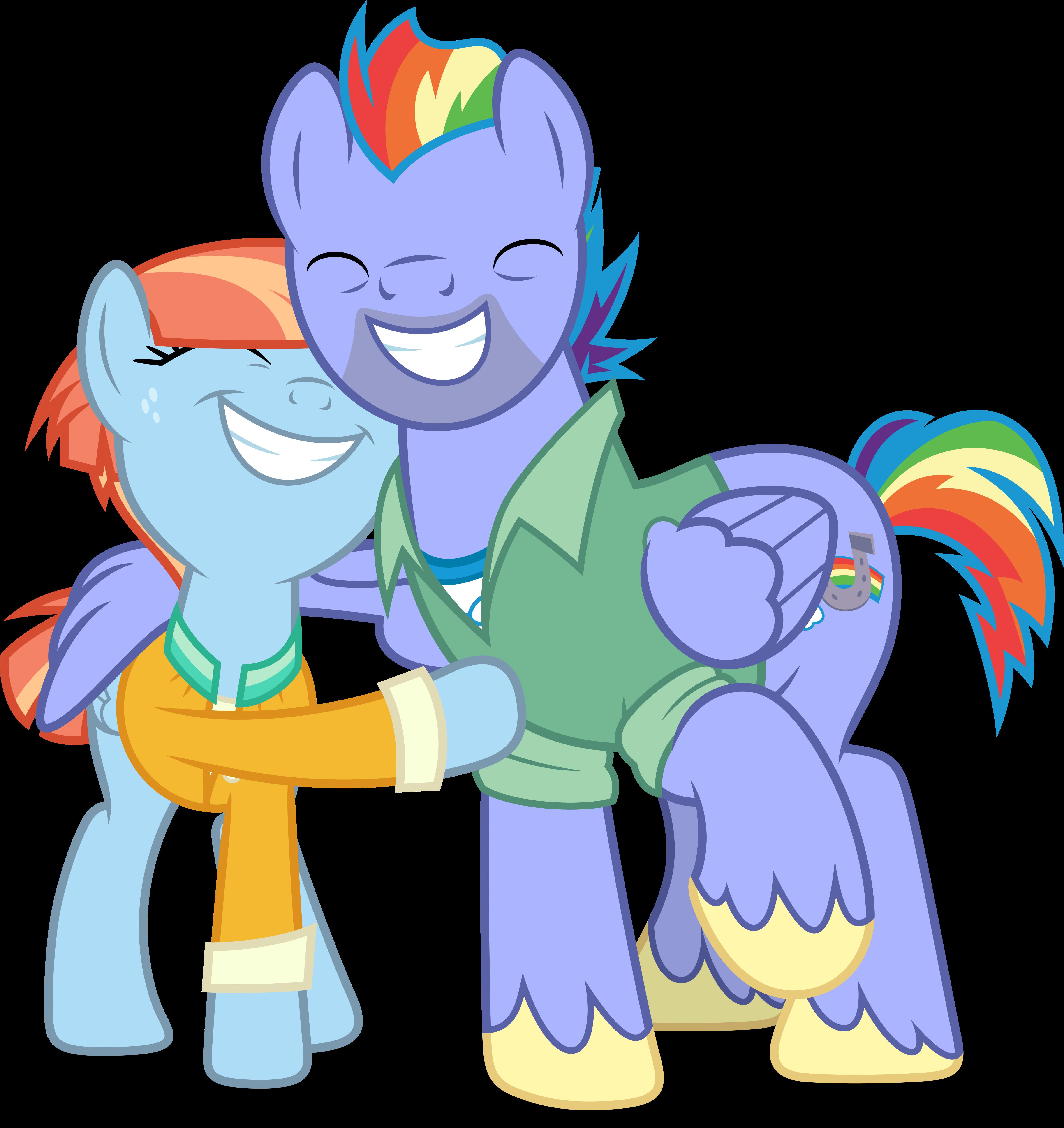 vector 695 rainbows parents by dashiesparkle on deviantart