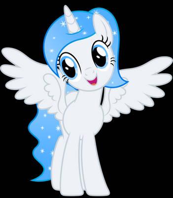 Vector #709 - Princess White Flare #22