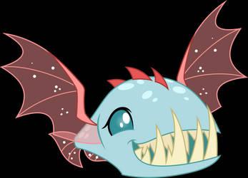 Vector #901 - Ocellus #2 (Bite-Acuda Fish) by DashieSparkle