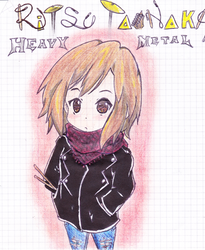 Ritsu Tainaka Heavy Metal
